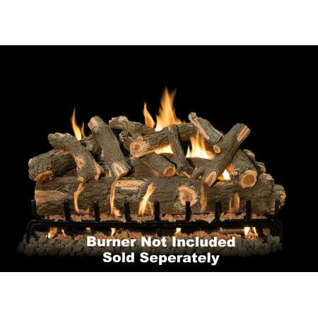 Fireplace Logs 12Pc Arizona Weather Oak For See Through Burners 42