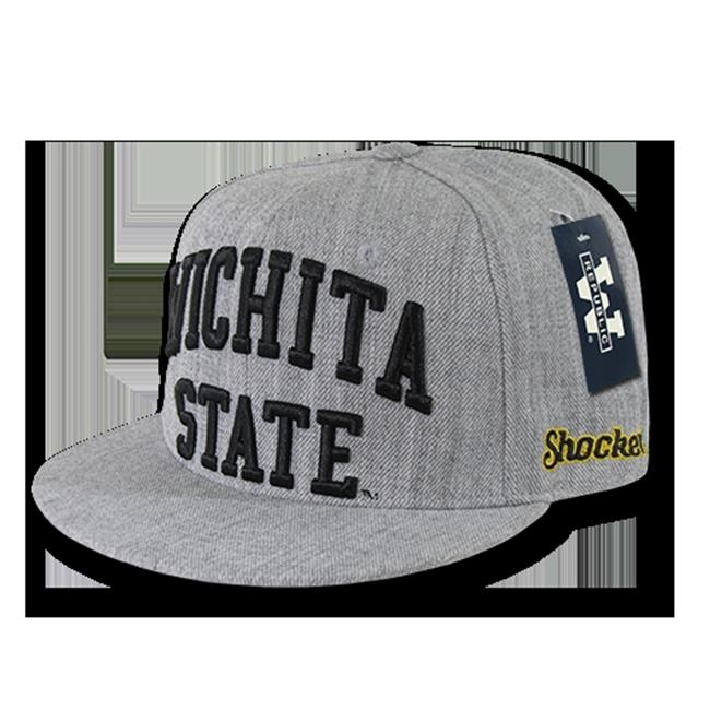 Wichita State Shockers Game Day Fitted Hat (Gray)