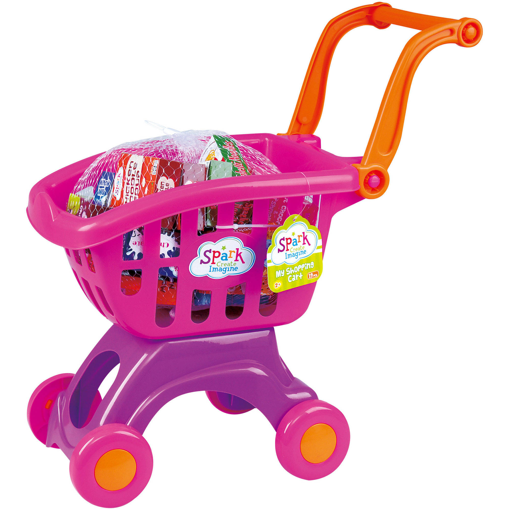 My Shopping Cart, 19 Pieces, Pink