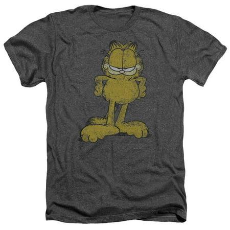 Garfield Big Ol' Cat Mens Heather -