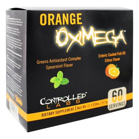 Controlled Labs - Orange OxiMega Greens/Fish Oil Kit
