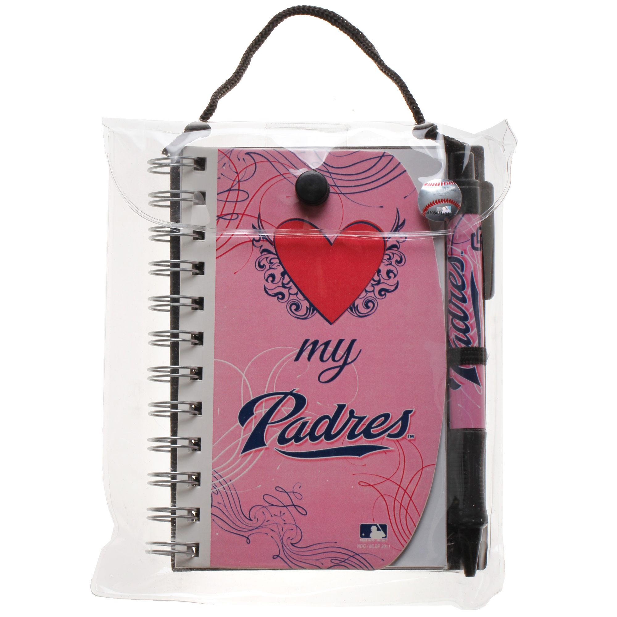 San Diego Padres Journal Set - Pink - No Size