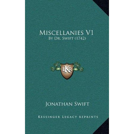 Miscellanies V1: By Dr. Swift (1742) - image 1 of 1