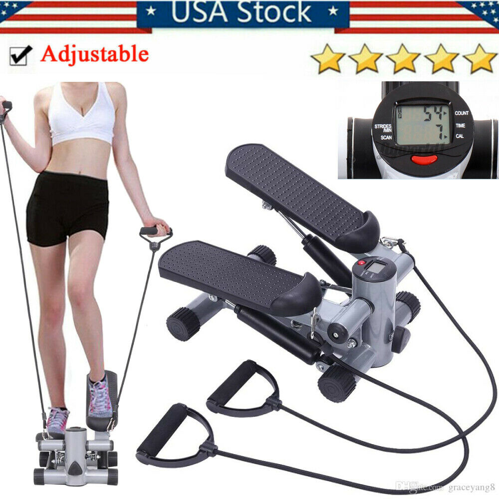S025 Aerobic Fitness Step Air Stair Climber Stepper Exercise Machine New Equipme