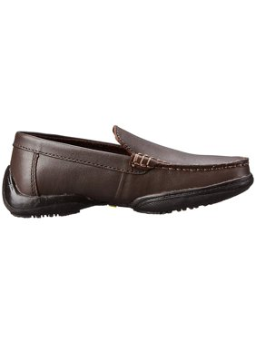 Kenneth Cole Reaction Kids Driving Dime (Little Kid/Big Kid) Dark Brown Leather