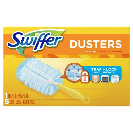 Swiffer Dusters Dusting Kit (1 Handle, 5 Dusters)