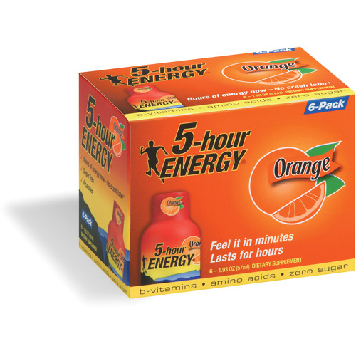 5-Hour Energy Dietary Supplement, 6ct
