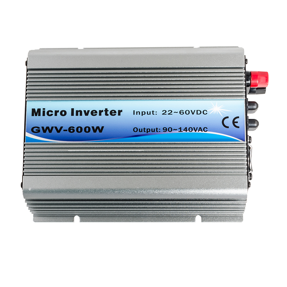 iMeshbean 600W Gird Tie Inverter MPPT Pure Sine wave for Solar Panel System DC 22V-50V TO AC 110V 120V Safe & Durable USA by