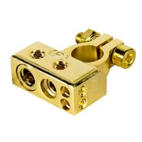 Raptor R4BTP Positive Battery Terminal Mid Series - Gold Plated
