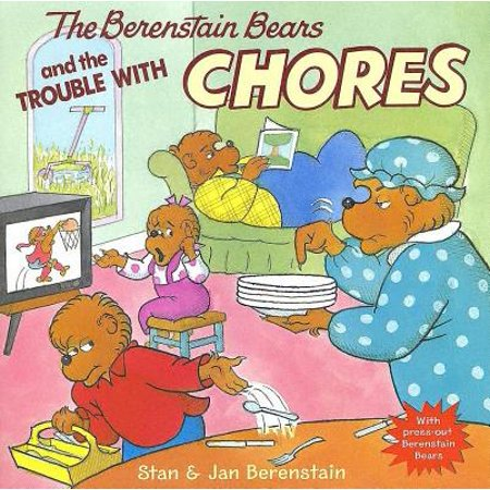 The Berenstain Bears and the Trouble with Chores [With Press-Out Berenstain Bears] (Paperback) - Brown Bear Brown Bear Book