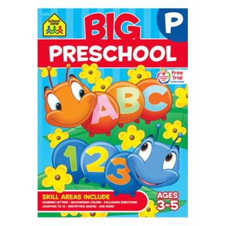 Big Preschool Workbook (Best Prep Schools In The Us)