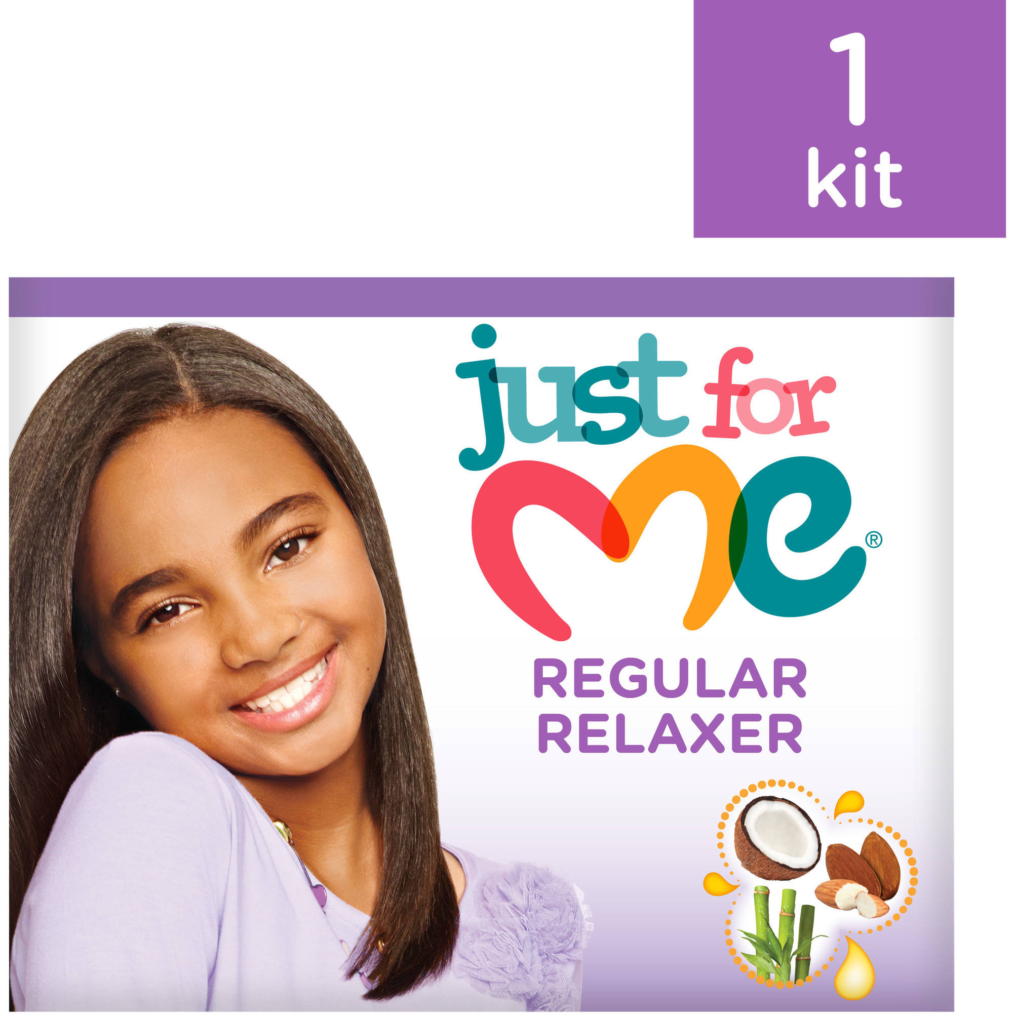 Just For Me Regular No Lye Conditioning Creme Relaxer Kit