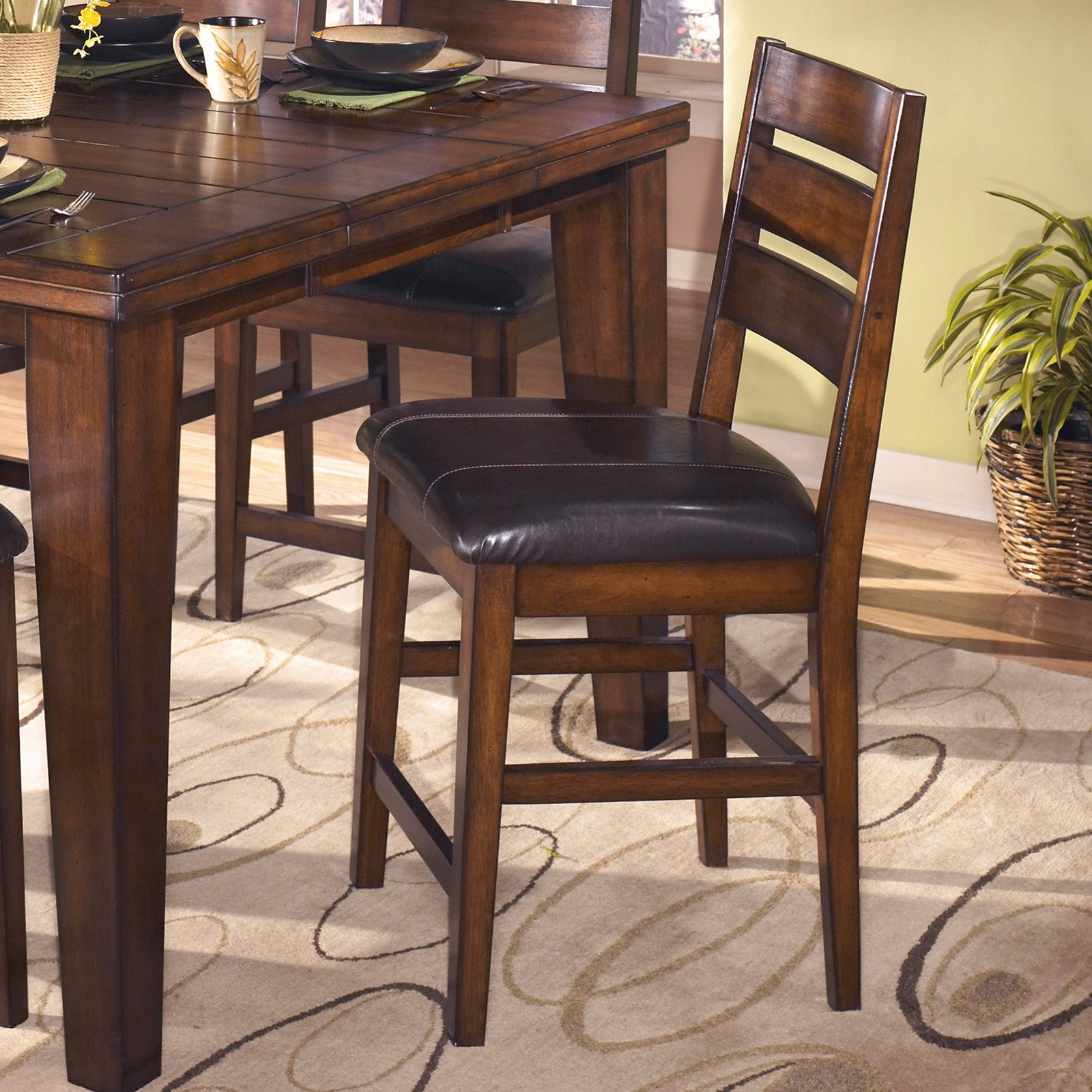 Signature Design by Ashley Larchmont Counter Height Chairs - Set of 2