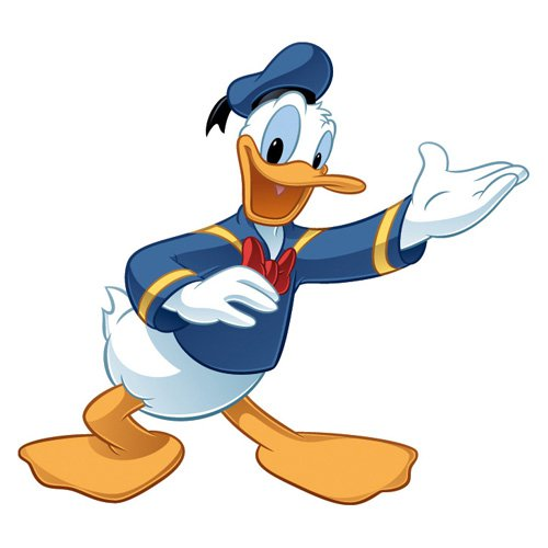 Mickey and Friends - Donald Duck Peel and Stick Giant Wall Decal