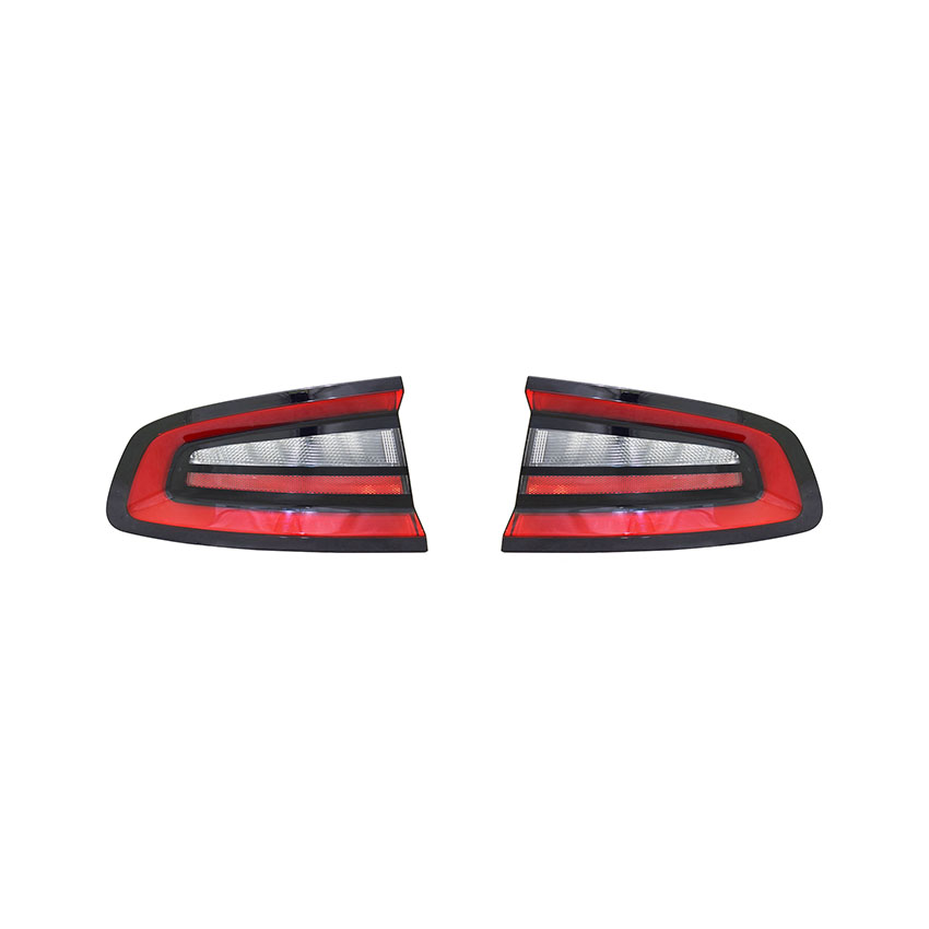 NEW TAIL LIGHT PAIR FITS DODGE CHARGER 2015 2016 2017