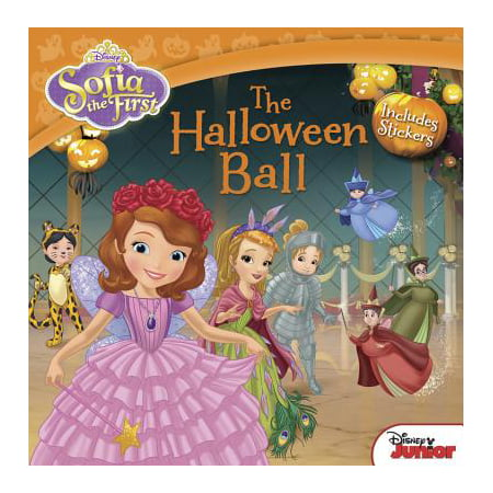 Sofia the First The Halloween Ball : Includes Stickers - Halloween Stories For First Grade