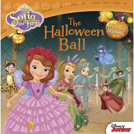 Sofia the First The Halloween Ball : Includes Stickers - All The Halloween Words