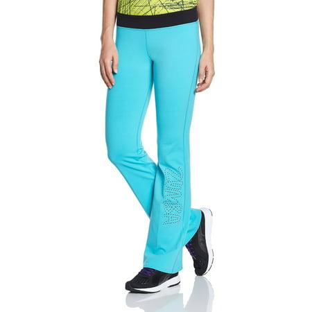 Zumba Fitness Women's Flared Trousers Full Orbit Blue  Marine - Zubaz Leggings