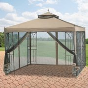 Garden Winds Replacement Canopy Top for the Parkesburg Gazebo - Riplock 350