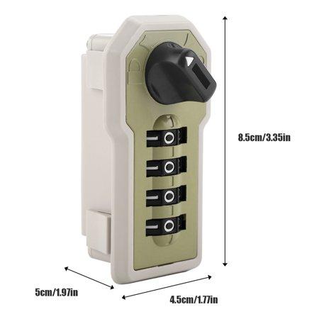 Ejoyous 4 Digit Code Combination Cam Cabinet Convenient