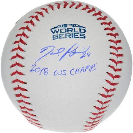 Autographed 2004 World Series Baseball - David Price Boston Red Sox 2018 World Series Champions Autographed Logo Baseball with
