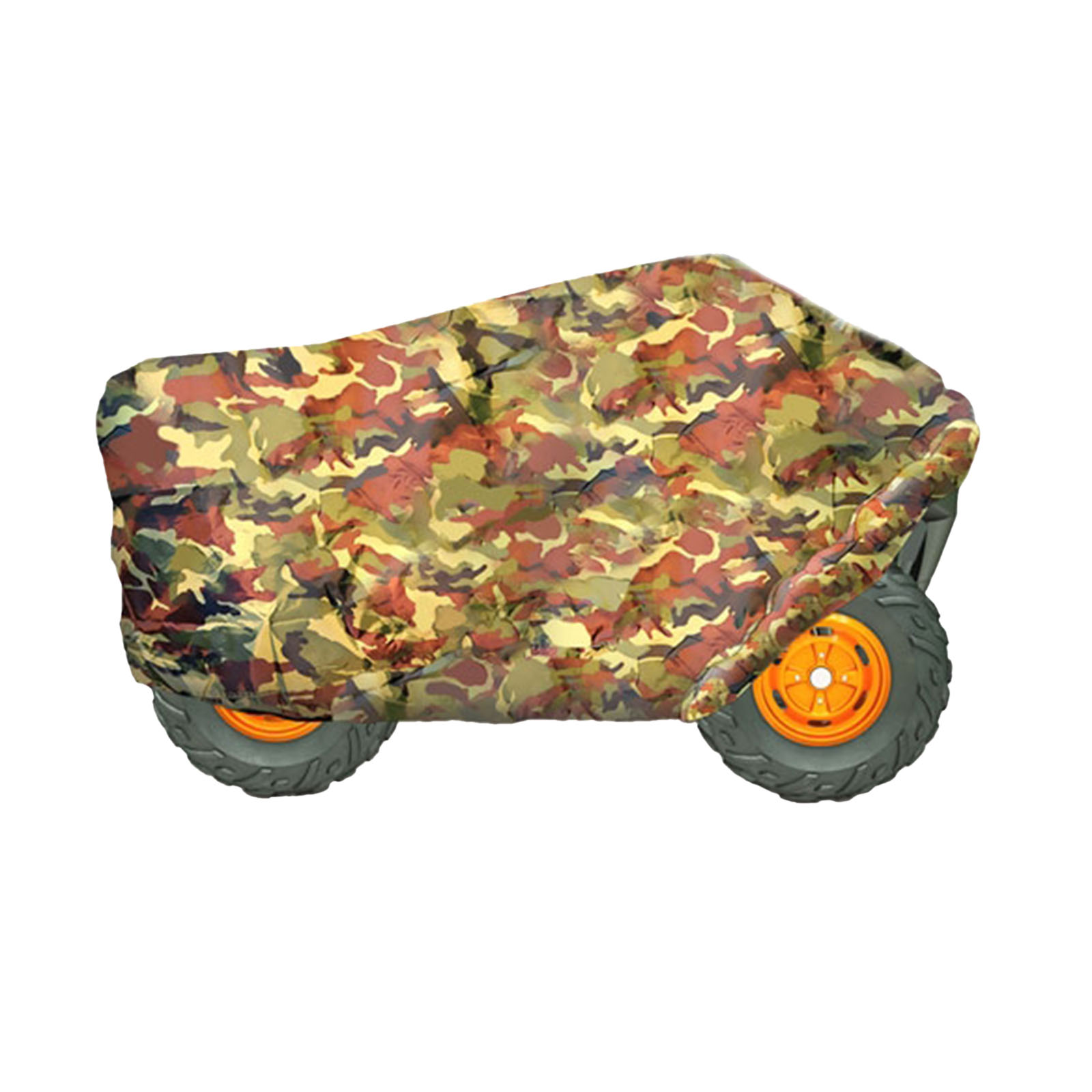 "Armor Shield ATV / 4 Wheeler Protective Cover, Camo Print, Fits Vehicles up to 82""L x 48""W x 31.5""H"