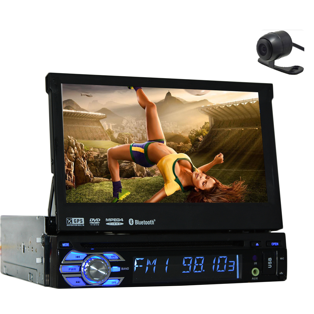 3D GPS Car Stereo Electronics single din Car PC Multimedi...