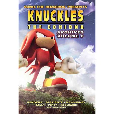 Sonic The Hedgehog Presents Knuckles The Echidna Archives 6