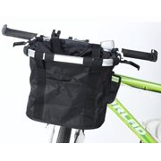 Bicycle Carriers Basket for Dog Cat Pet 2-in-1 Bike Basket Shoulder Carriers