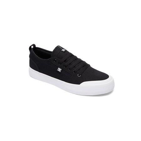 ea726f086ea75b DC - DC Men s Evan Smith TX Low Top Sneakers Black Textile 11 D -  Walmart.com