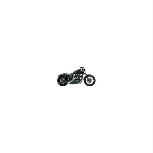 "Cobra 3"" Slip-On Mufflers Black Fits 04-13 Harley-Davidso..."