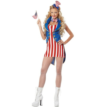Miss Independence Adult Costume](Miss America Costume)