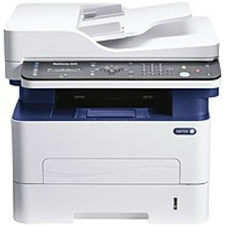Refurbished Xerox WorkCentre 3225DNI Laser Multifunction Printer - Monochrome - Copier/Fax/Printer/Scanner - 29 ppm Mono Print - 4800 x 600 dpi Print - Automatic Duplex Print - 250 sheets Input -