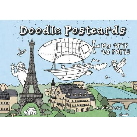 My Trip to Paris : Doodle (Paris Trip)