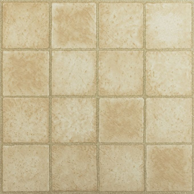 Achim Nexus 16 Square Sandstone 12x12 Self Adhesive Vinyl Floor Tile - 20 Tiles/20 sq. ft.
