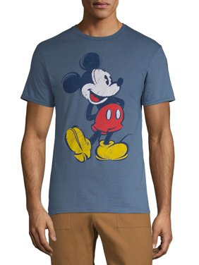 Men's Disney Original Mickey Mouse Classic Graphic T-shirt