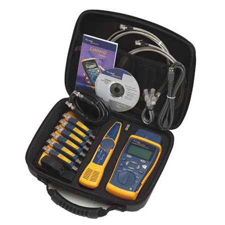 Cable Tester Kit,Qualifier FLUKE NETWORKS (Modular Cable Tester)