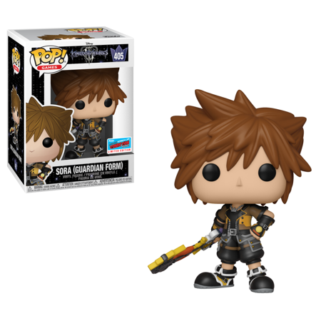 Funko POP Disney: Kingdom Hearts 3 - Sora (Guardian Form) - NYCC Exclusive