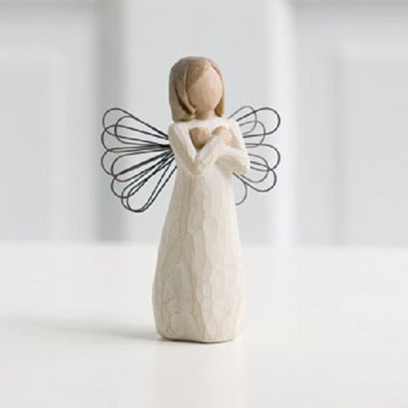 Earth Willow Tree - Willow Tree Sign of Love I Love you Angel Figurine Susan Lordi 26110 New Demdaco