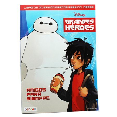 Disney's Big Hero 6 Friends Forever Coloring and Activity - Big Halloween Coloring Pages