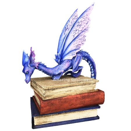 Amy Brown Fairies Dragon Collectible Figurine Book