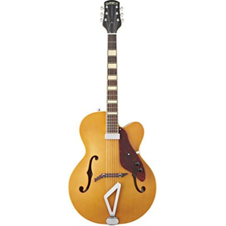 gretsch g100ce synchromatic archtop cutaway acoustic electric guitar, natural Gretsch Jazz Guitar