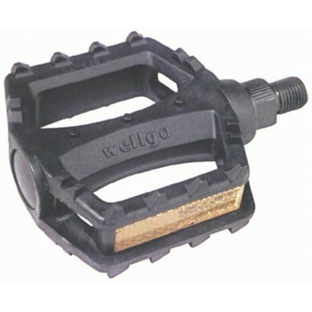 Juvenile Pedals - Sunlite Pedals Juvenile BMX Plastic 1/2 Black