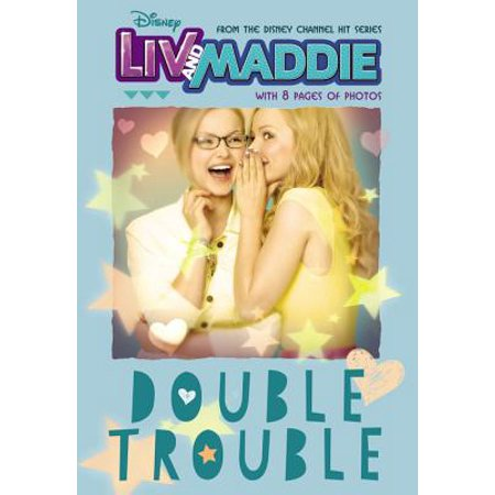 LIV and Maddie Double Trouble (Paperback) (Disney Liv And Maddie Halloween)