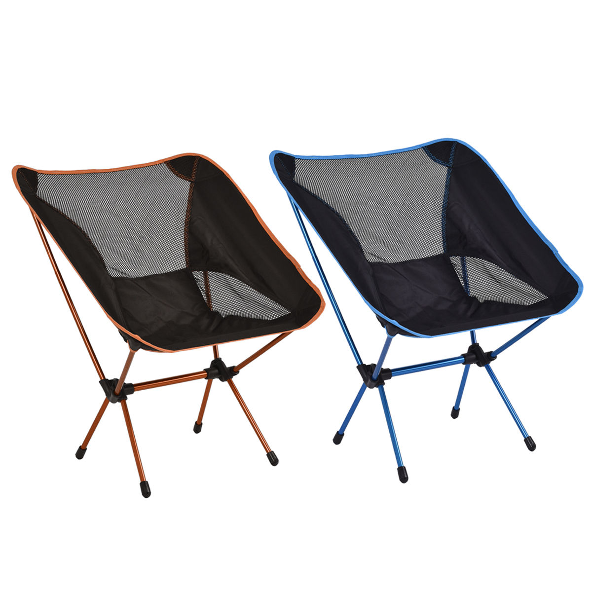 Costway Aluminum Hiking Camping Chair Fishing Seat Stool