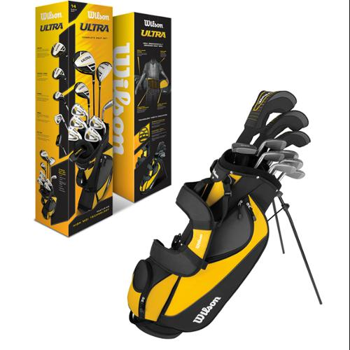 Wilson Ultra Men's Standard Right-Handed Golf Club Set With Bag | WGGC25000