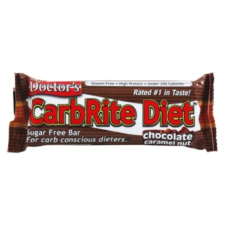 Universal Nutrition - Doctor's CarbRite Diet Bar Chocolate Caramel Nut - 2 oz. ()