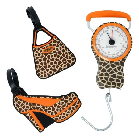 Luggage Scale and Luggage Tags Set in Animal -