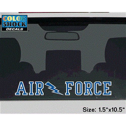 Air Force Falcons Decal Strip - Air Force W/ Lightning Bolt