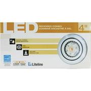 liteline gimbal remodel led recessed light kit
